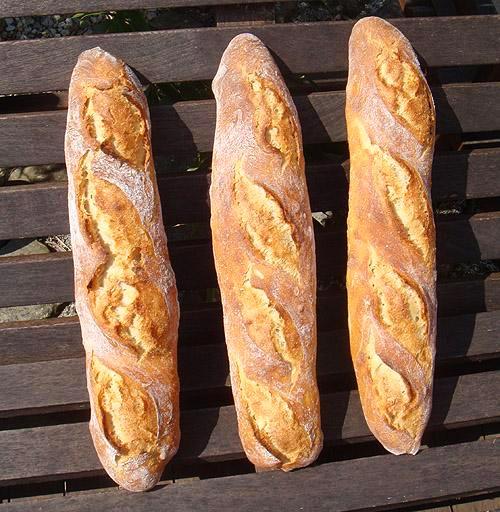 Bohnenmeh Brot