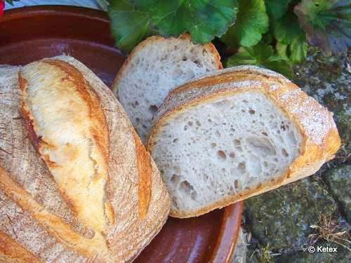 Mehl Wasser Salz Brot