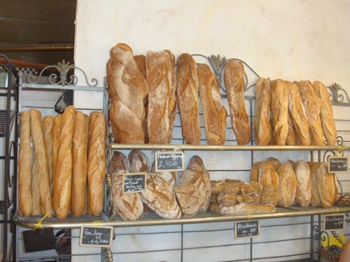 Das Brotangebot