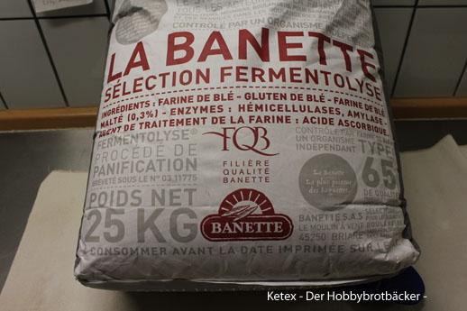Französisches Mehl La Banette T 65 in Kleinmengen