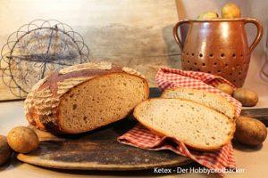 Alter Fritz –  Kartoffelbrot mit Monheimer Salzsauerteig