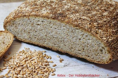 Ur-Dinkel-Sesam-Brot