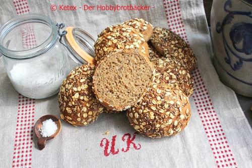 Weizenvollkornbrötchen
