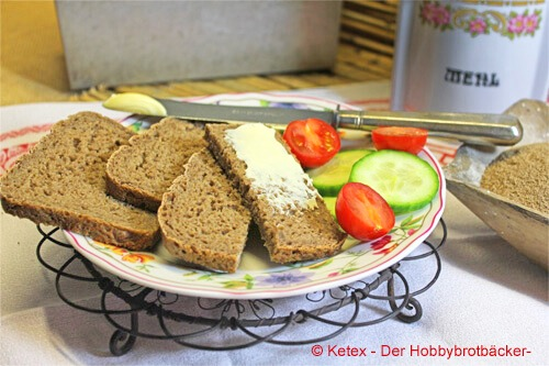 Schlüterbrot mit Butter