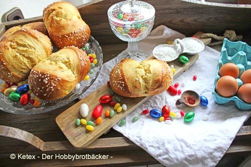 Osterwecken mit Safran