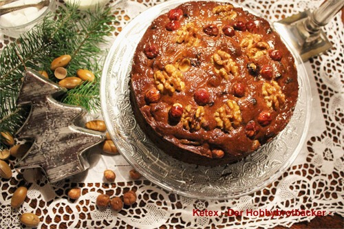Früchte-Nuss-Brot zum Advent