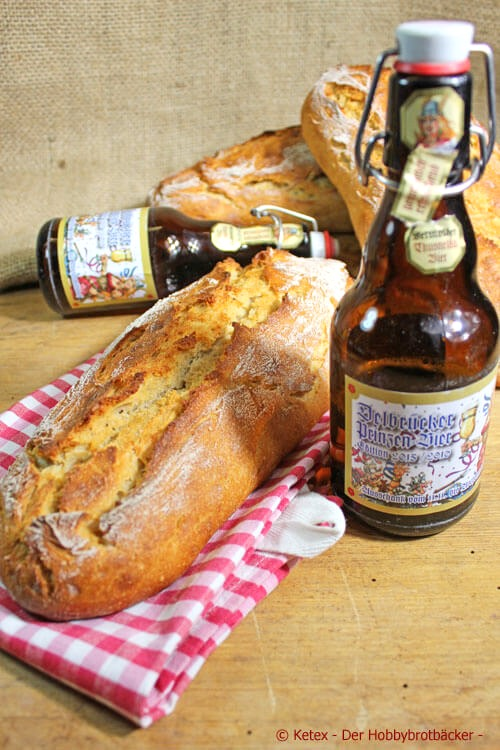 Delbrücker Prinzen-Bier-Brot