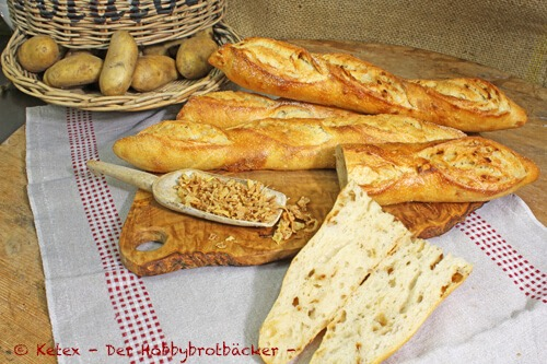 Kartoffel-Röstzwiebel-Brot