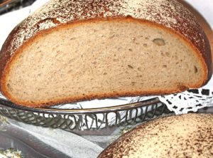 Schwarzwälder Brot Anschnitt