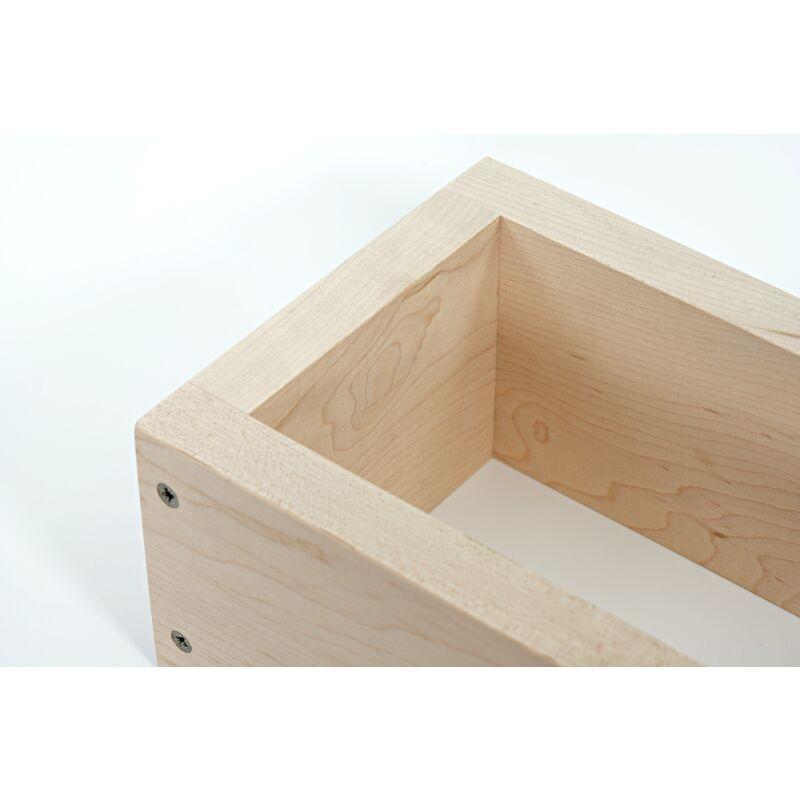 holzbackrahmen feinstes ahornholz 35 95. Black Bedroom Furniture Sets. Home Design Ideas
